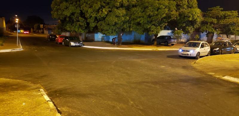 Local de acidente fatal na na Avenida Anápolis, Vila Brasília, na última quarta, 4 | Foto: Folha Z