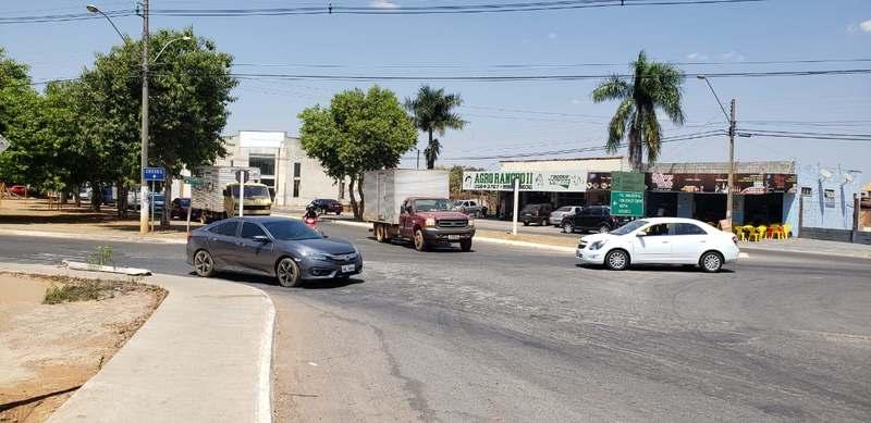 Confusão na Rua Sampaio Vidal a com a Avenida Santana | Foto: Folha Z