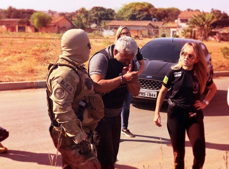 Bebê e adolescente foram alvos de estuprador preso em Aparecida | Foto: Divulgação / PC