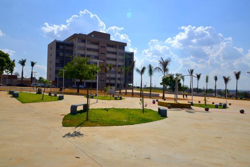 Novo Paço Municipal de Aparecida de Goiânia tem inauguração oficial prevista para o dia 7 de outubro | Foto: Claudivino Antunes