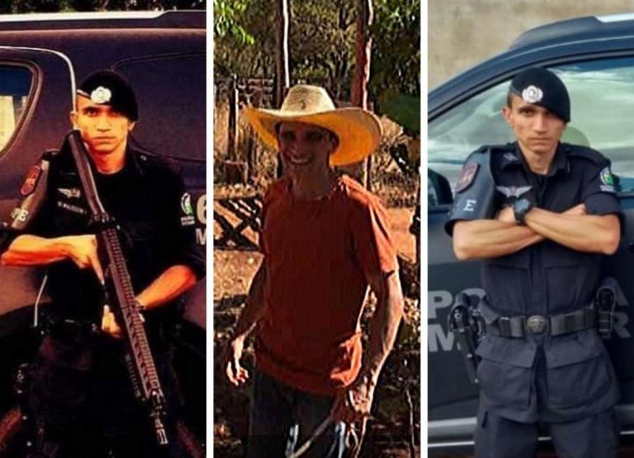 Soldado da PM Walisson Miranda, morto neste domingo em Aparecida, era de família humilde do Colina Azul | Foto: Arquivo Pessoal