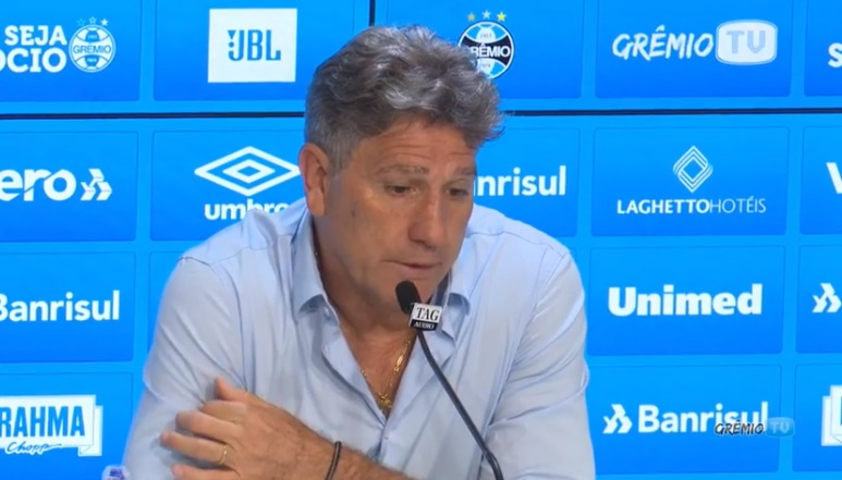 Segundo Renato Gaúcho, o Goiás levou uma aula de futebol em Porto Alegre | Foto: reprodução Facebook Grêmio