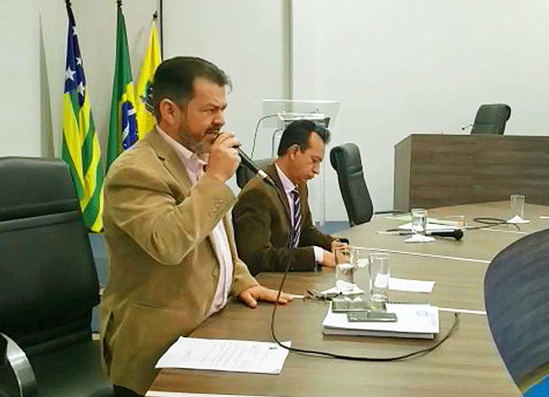 Vereador Gleison Flávio (MDB) | Foto: Reprodução