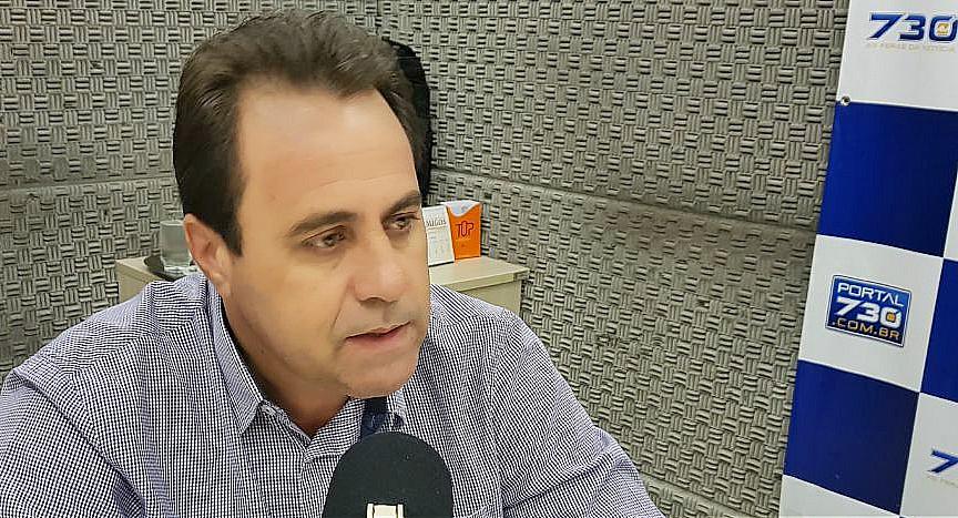 Veter quer o apoio de Onomar Novais para fortalecer sua manutenção na vice de Gustavo | Foto: Sagres 730