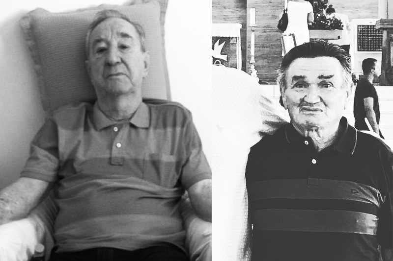 Pais que se foram: Theodoro, o Czepak, e Edival, o Ceará | Foto: Arquivo Pessoal