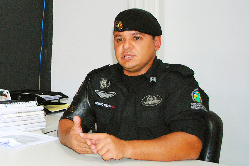 Major Rodrigo Bispo | Foto: Folha Z