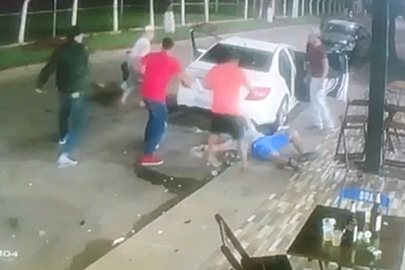 Em estado grave, atirador foi encaminhado para o Hospital de Urgências de Anápolis | Foto: Reprodução