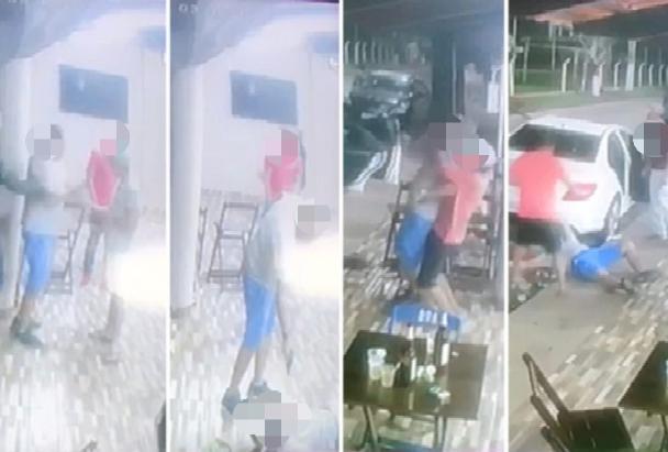 Briga em bar termina com morte em Campo Limpo de Goiás | Foto: Reprodução