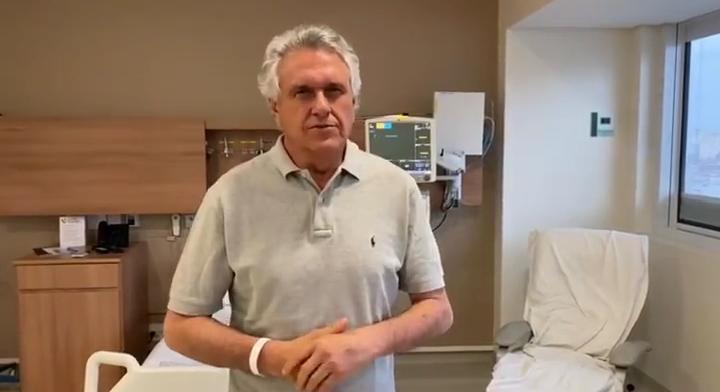 Governador Ronaldo Caiado Hospital Sírio Libanês