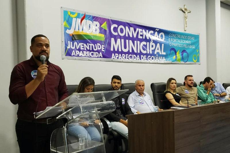 presidente da Juventude, Rogério Almeida