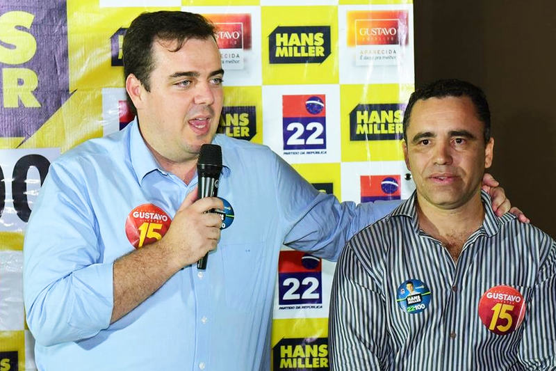Ele também participou da campanha a prefeito de Gustavo Mendanha, de quem foi secretário | Foto: Arquivo Pessoal