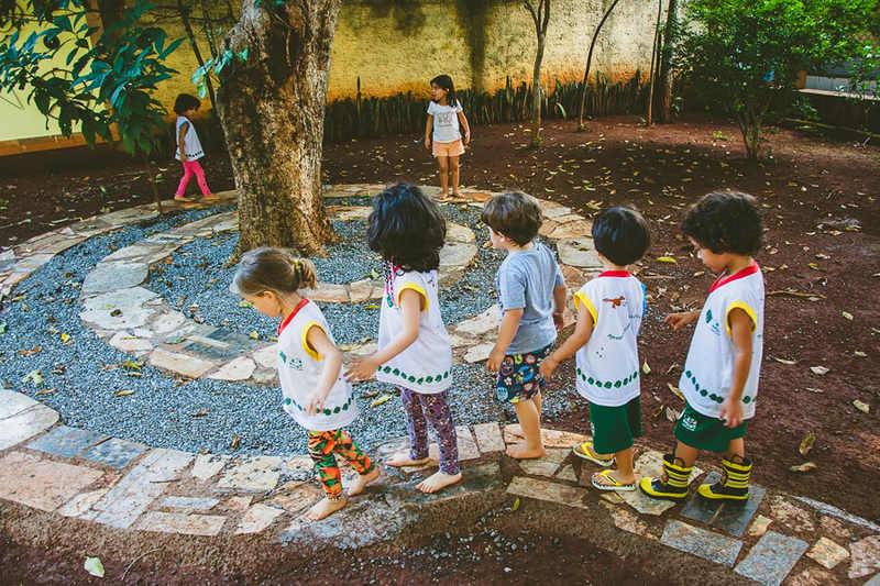Espaço criativo da Escola Casa Verde | Foto: Reprodução