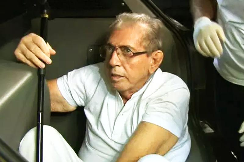 Empresário João Teixeira de Faria, 77 anos, vulgo João de Deus, não tem nenhuma doença grave e pode continuar cumprindo a sua pena na prisão | Foto: Reprodução / TV Anhanguera