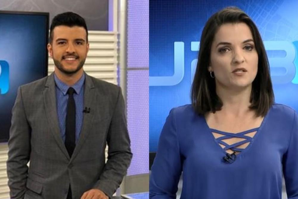 Matheus Ribeiro e Larissa Pereira vão apresentar o Jornal Nacional no dia 9 de novembro | Foto: Divulgação / TV Globo