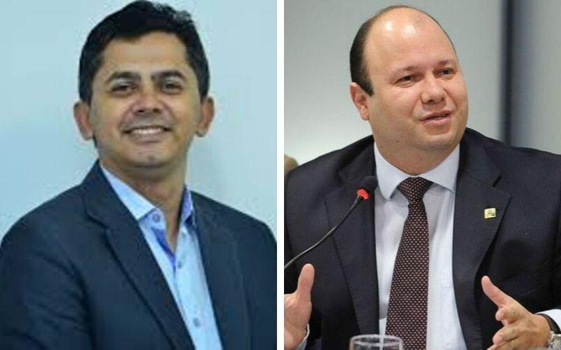Ozeias Laurentino (Comunicação) e Olavo Noleto (Casa Civil) | Fotomontagem: reprodução