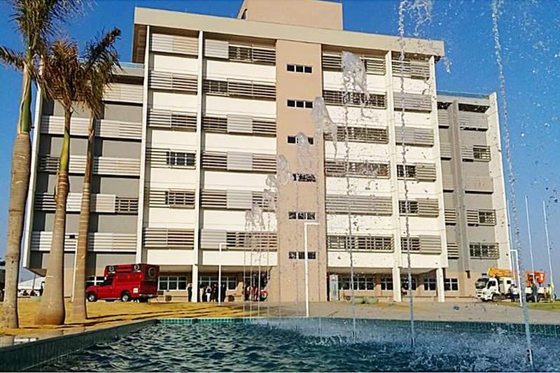 Novo Paço Municipal de Aparecida foi inaugurado oficialmente no início da manhã desta segunda, 7 | Foto: Divulgação