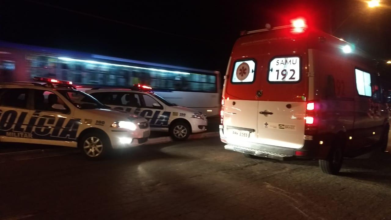 O SAMU encaminhou as vítimas para o Hospital de Urgência de Goiânia   Foto: Leitor FZ