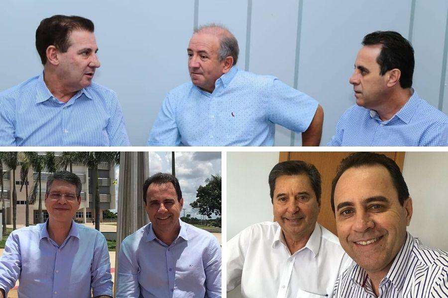Veter tem aliados fortes que bancam seu nome na provável chapa de reeleição | Foto: Montagem/FZ