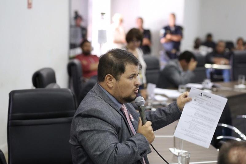 Vereador Willian Panda (PCdoB) | Foto: Divulgação