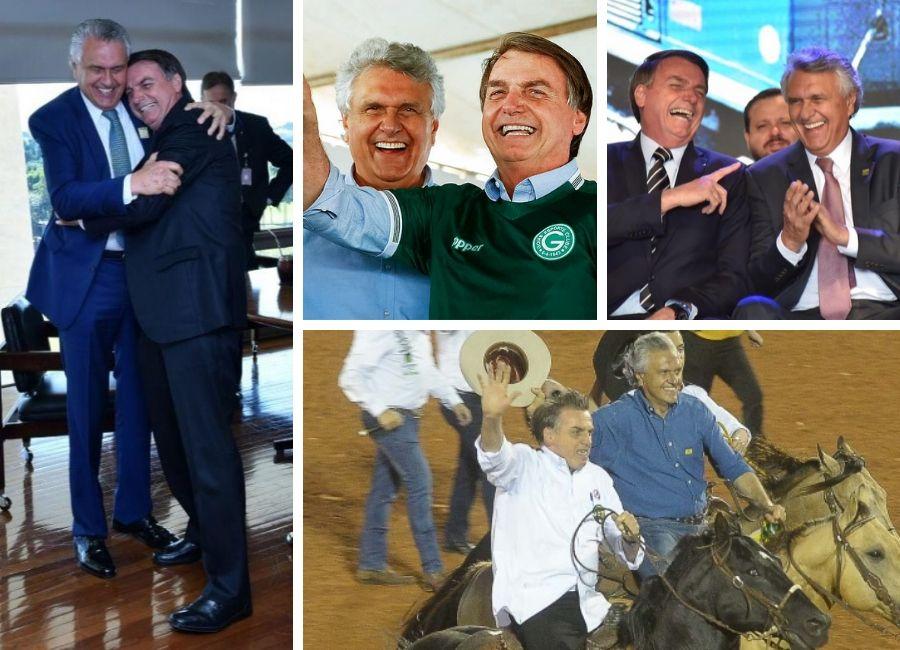 Opinião: Caiado esquece seus problemas e aposta na defesa de Bolsonaro | Fotos: Reprodução