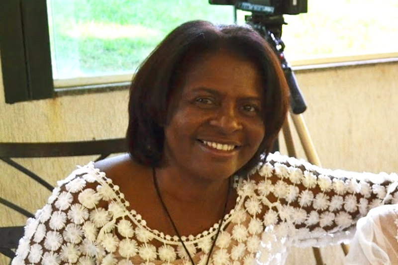 Irmã do ex-deputado Marlúcio, Cida Pereira | Foto: Reprodução
