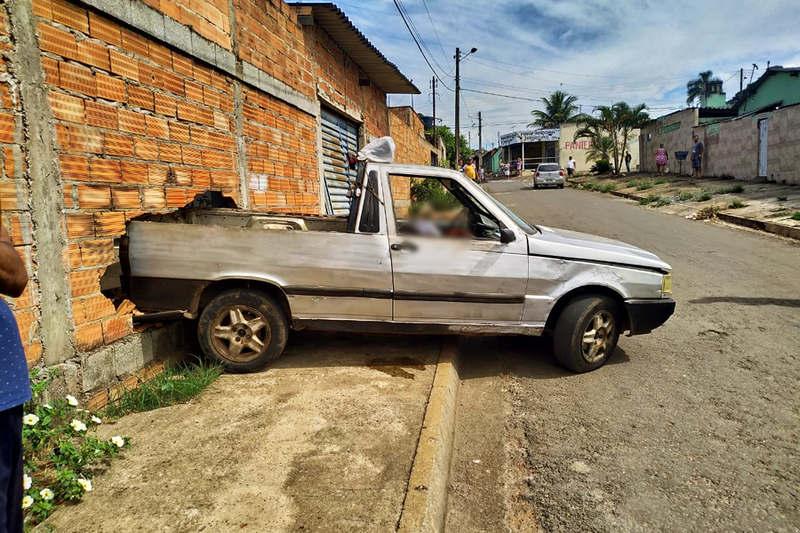 Feirante foi morto a tiros na Rua da Paz, no setor Cidade Livre, em Aparecida | Foto: Leitor / FZ