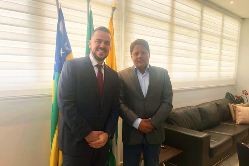 Gustavo Mendanha e Flávio Canedo | Foto: Reprodução / Facebook