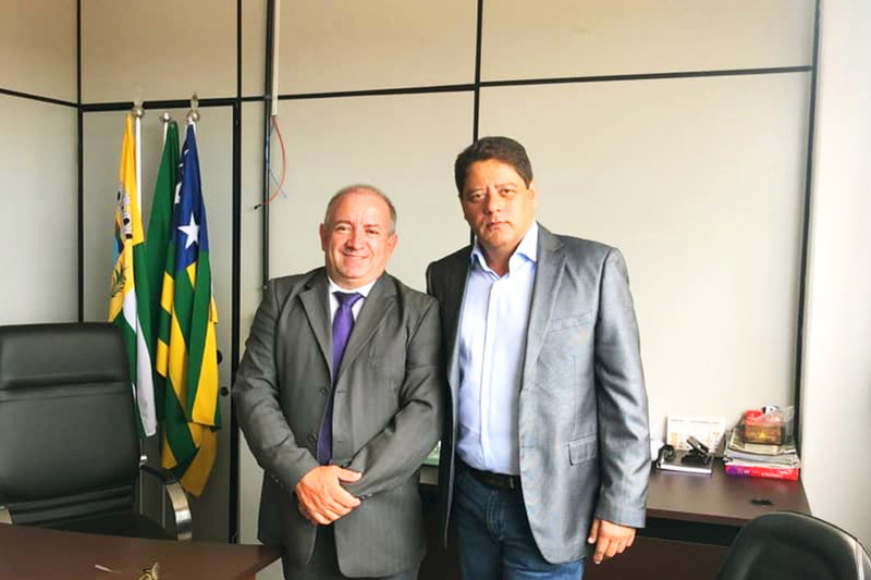 Vilmar Mariano e Flávio Canedo | Foto: Reprodução / Facebook