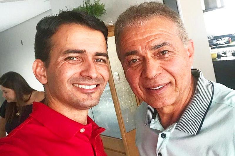 Max Menezes e Ademir Menezes | Foto: Arquivo Pessoal