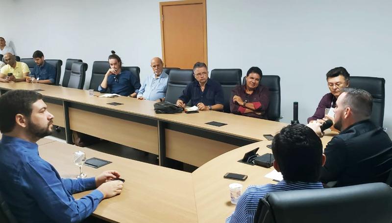 Humanização de Aparecida foi o foco da gestão, diz Mendanha a jornalistas | Foto: Folha Z