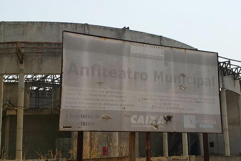 Primeira previsão para término da obra era 2015, ainda na gestão do ex-prefeito Maguito Vilela (MDB) | Foto: Folha Z