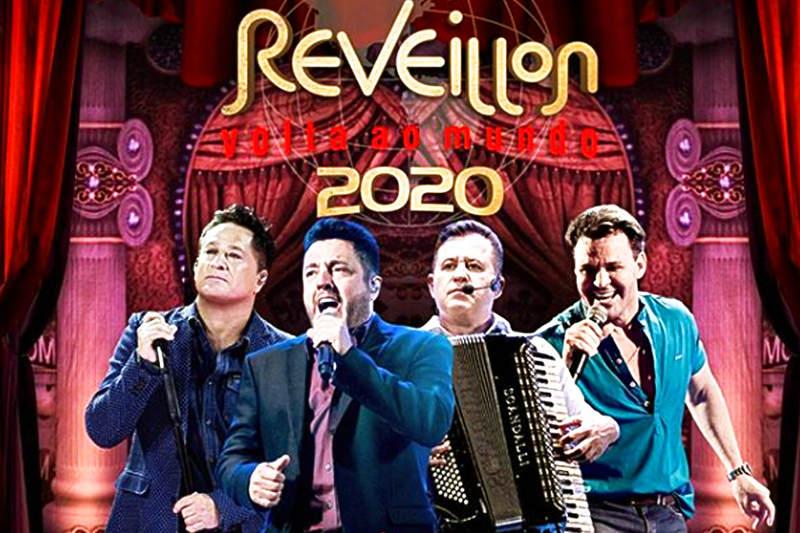 Réveillon Volta ao Mundo 2020   Foto: Divulgação