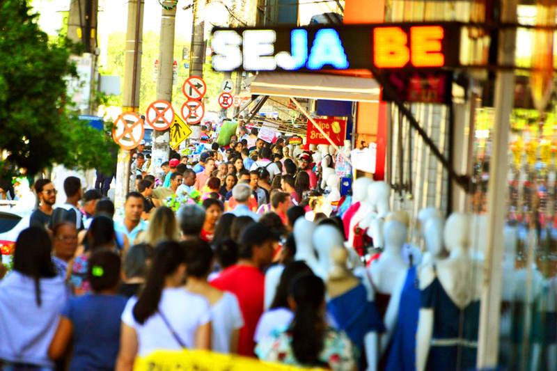 Conforme apurado pelo Gaeco, somente na Rua 44 foram identificados pagamento de suposta propina ao grupo por parte de 145 comerciantes | Foto: Reprodução
