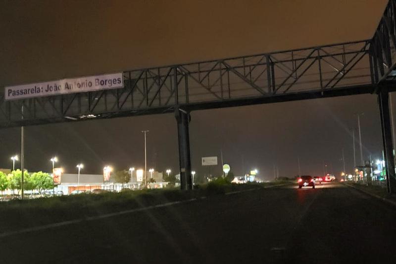 No escuro: trecho urbano da GO-040 continua sem iluminação | Foto: Folha Z