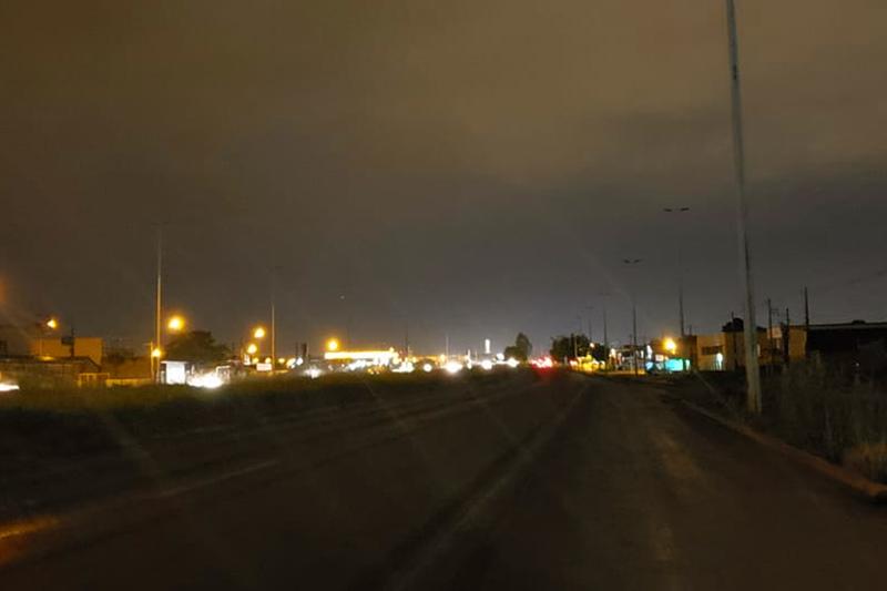 No escuro: trecho urbano da GO-040 continua sem iluminação