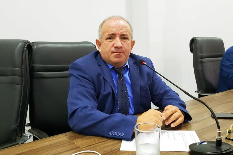 Presidente da Câmara de Aparecida de Goiânia, Vilmar Mariano | Foto: Folha Z