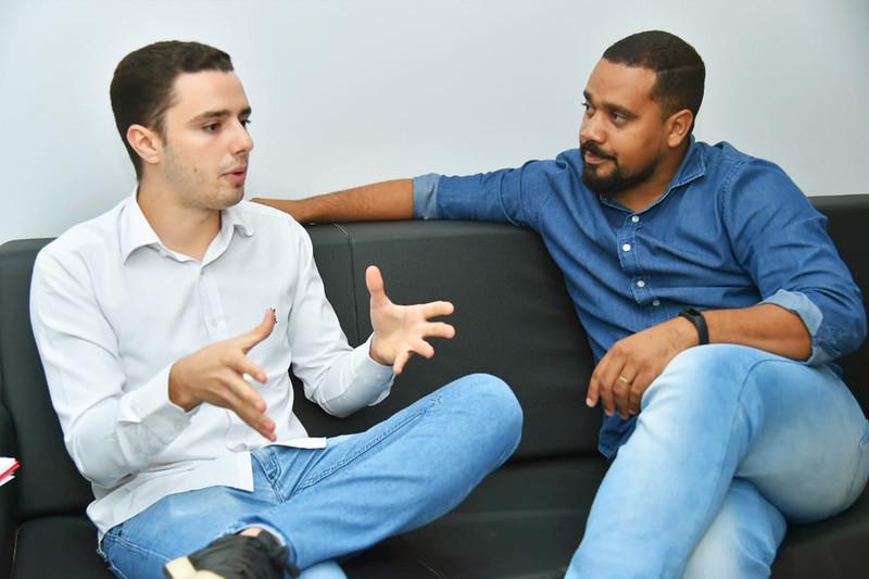 Vitor Bueno e Rogério Almeida | Foto: Reprodução