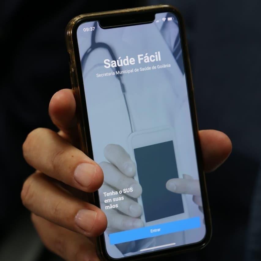 aplicativo saúde fácil Goiânia