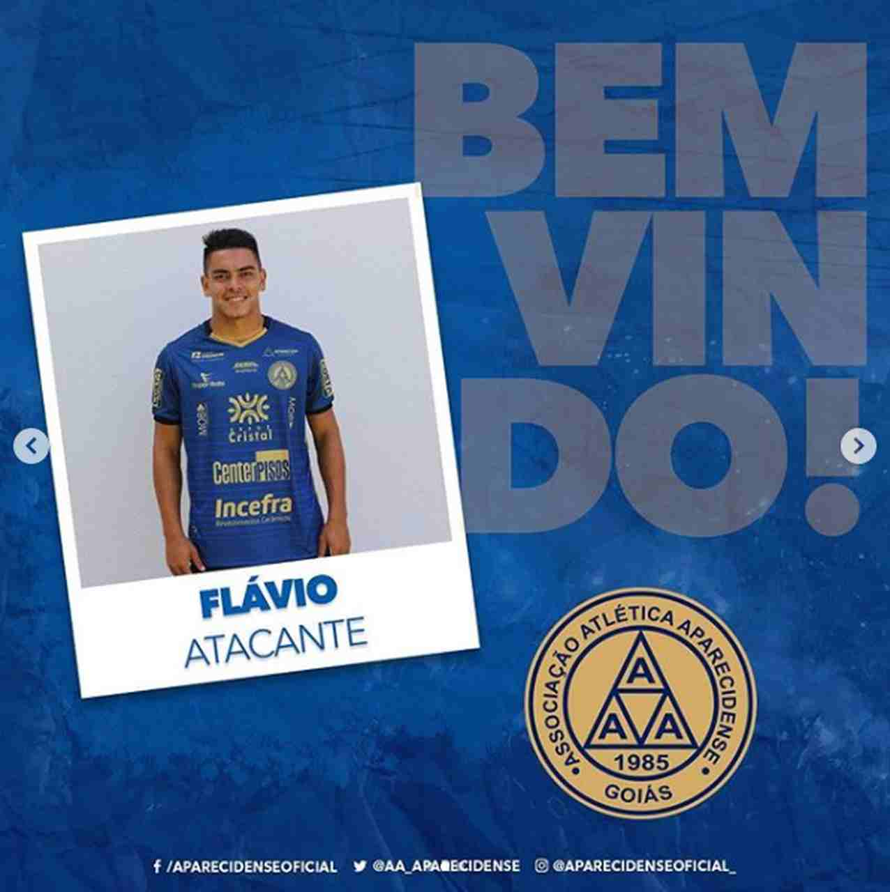 Flávio Gabriel Aparecidense 2020