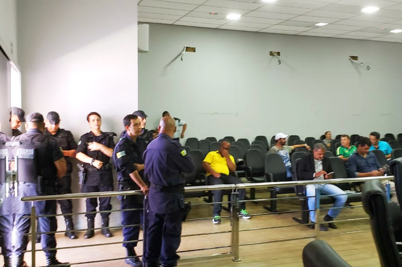 Agentes da Guarda Civil foram acionados | Foto: Folha Z