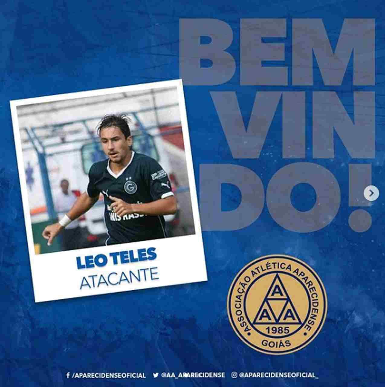 Léo Teles Aparecidense 2020