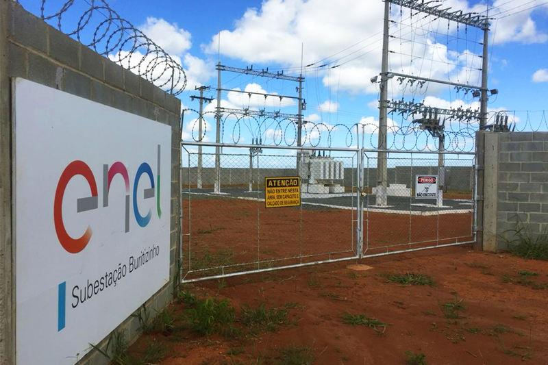 Jogada contra as cordas pela opinião pública, a Enel anuncia a intenção de construir 100 novas subestações de energia em 2020