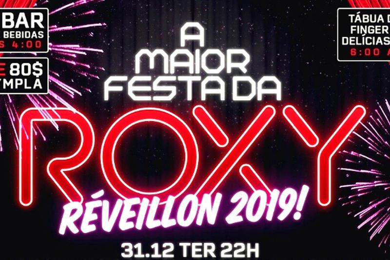 Réveillon! A Maior Festa da Roxy   Foto: Divulgação