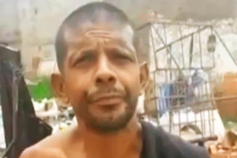 Uingles Queiroz Costa foi preso nesta terça, 3, suspeito de matar um motorista de aplicativo em Goiânia | Foto: Divulgação / PMGO