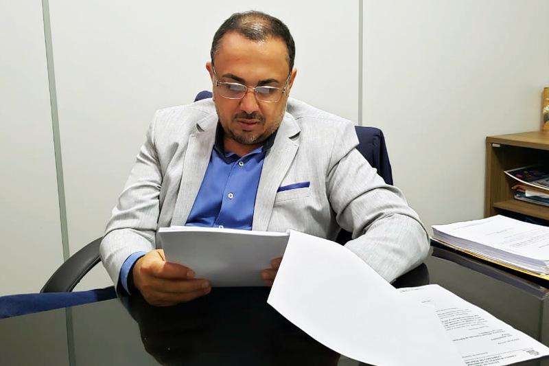 Vereador André Fortaleza | Foto: Folha Z