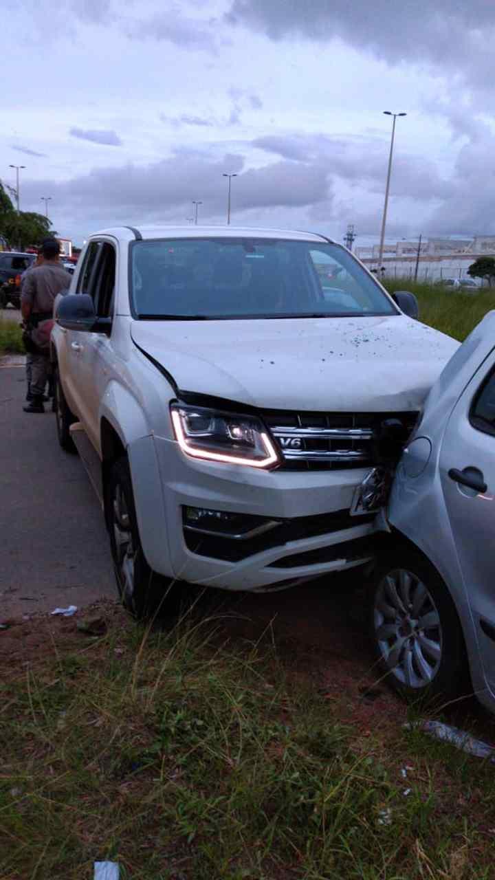 homem baleado perde controle veículo Aparecida