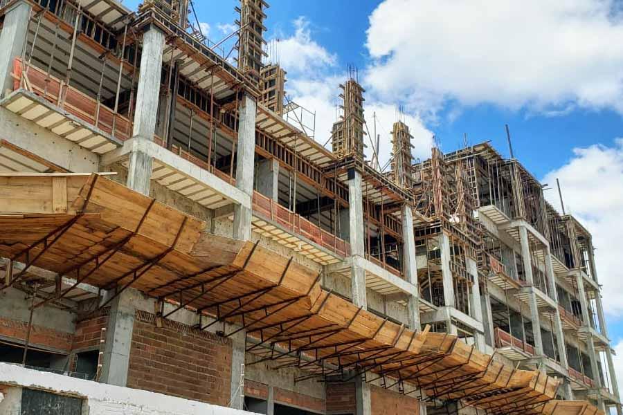 Obra da sede da Câmara de Aparecida tem nova previsão de entrega | Foto: Folha Z