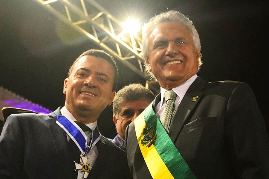 Presidente da Codego, Marcos Cabral, é apontado como articulador de Caiado em Aparecida   Foto: Divulgação