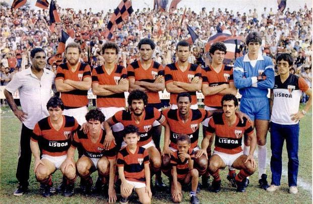 Atlético-GO campeão goiano 1985