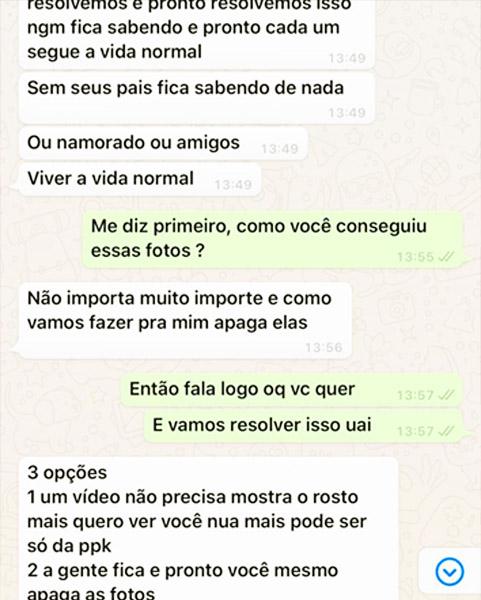 Ameaça de extorsão com fotos íntimas em Goiânia | Foto: Divulgação / PM-GO